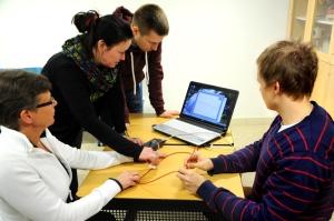 Rymdkofferten på fortbildning i Helsingfors