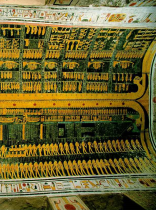 Bilde 1: Gravkammer til Ramses VI. Kilde: (www.ancient-egypt-history.com)