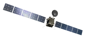 Artist's impression of the Rosetta orbiter, on a transparent background. Credit: ESA/ATG medialab. https://www.flickr.com/photos/europeanspaceagency/11206647984/in/set-72157638315605535