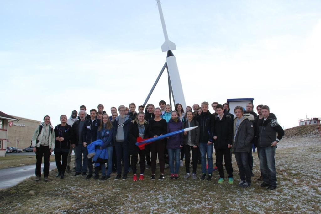 Alle deltagere i den nordiske CanSat konkurrence 2015