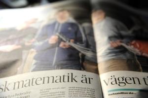 Science Project for The Curious (SPTC) från Finland presenterade sitt projekt i den lokala tidningen.