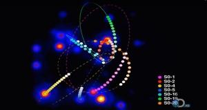 """Per definition kan vi inte se ett svart hål - men vi kan se att det finns där! Bild: Skärmdump från Discovery Chanels """"How the universe works"""""""
