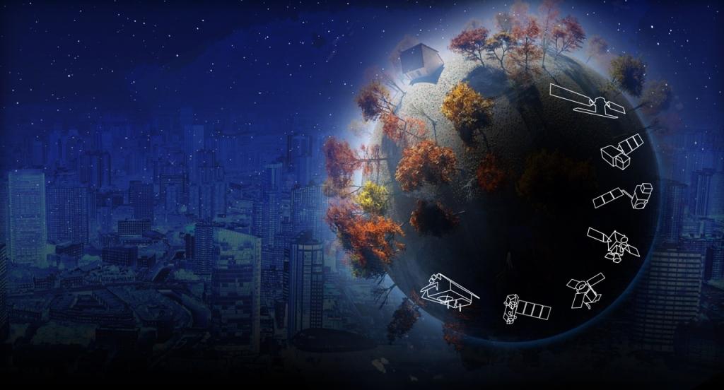 ESAs Sentinel-satelliter bygger är den del av Copernicus-programmet vilket ska ge information som behövs för att göra livet på jorden tryggare och mera säkert.