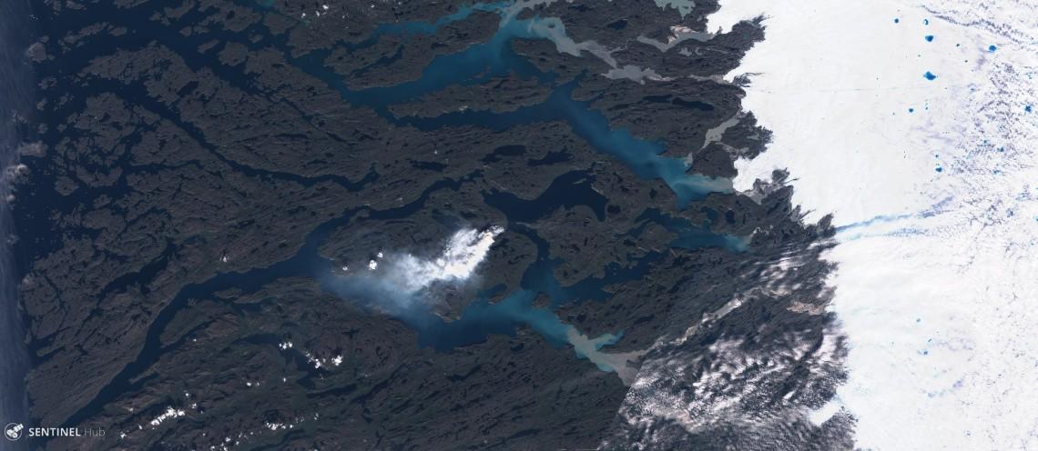 Sentinel image on 2017-08-03