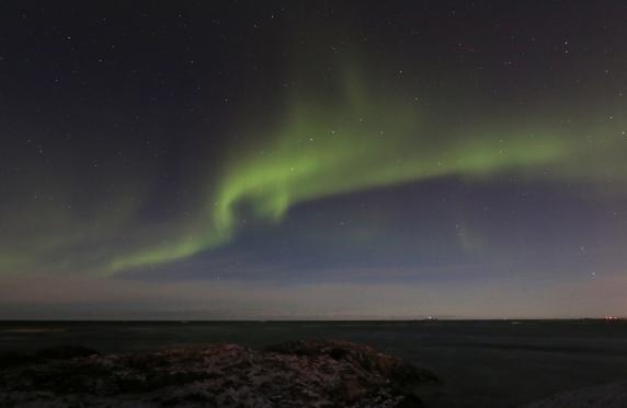 Nordlys ved Andøya Foto: Lene Agertoft