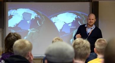 Christoffer Stausland presenterar ASC och NAROM