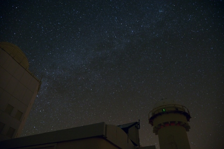 Vintergatan över Teneriffa