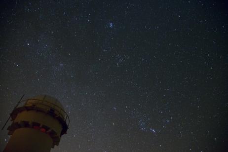 Plejaderna och Orion