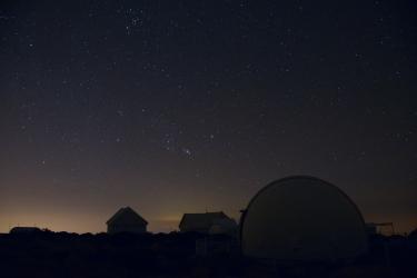 Sovstugan under Orion får ge sig till tåls ännu en stund.